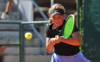 N. Davidová na B turnaji dorostenek v Chrudimi